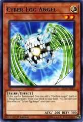Cyber Egg Angel - LED4-EN013 - Rare - 1st Edition