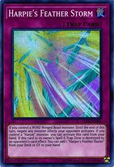 Harpie's Feather Storm - LED4-EN000 - Super Rare - 1st Edition