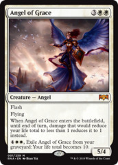 Angel of Grace - Foil on Channel Fireball