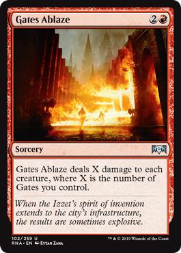 Gates Ablaze - Foil