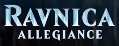 Ravnica Allegiance Complete Set x 4 - Foil