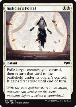 Justiciars Portal - Foil