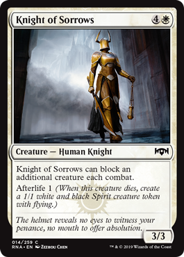 Knight of Sorrows - Foil