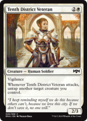 Tenth District Veteran - Foil