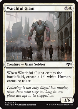 Watchful Giant - Foil