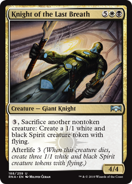 Knight of the Last Breath - Foil