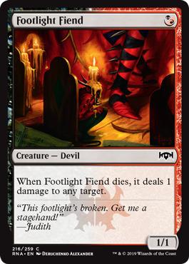 Footlight Fiend - Foil
