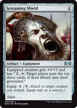 Screaming Shield - Foil