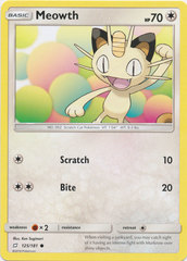Meowth - 125/181 - Common
