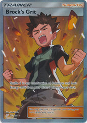Brocks Grit - 172/181 - Full Art Ultra Rare