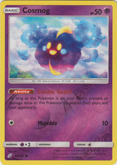 Cosmog - 69/181 - Common - Reverse Holo