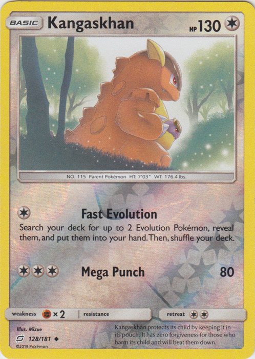 Aerodactyl 130//181 Rare Reverse Holo Pokemon Card Sun /& Moon Team Up