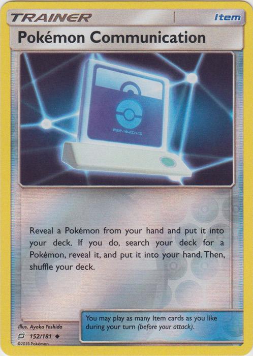 Pokemon Communication - 152/181 - Uncommon - Reverse Holo