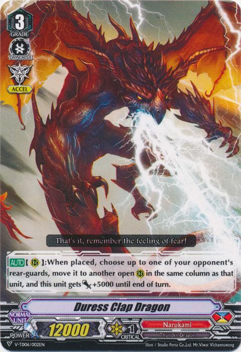 Duress Clap Dragon - V-TD06/002 - TD