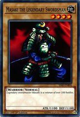Masaki the Legendary Swordsman - SS02-ENB04 - Common - 1st Edition