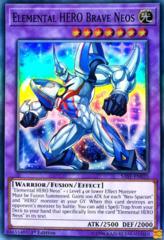 Elemental HERO Brave Neos - SAST-EN035 - Super Rare - 1st Edition on Channel Fireball