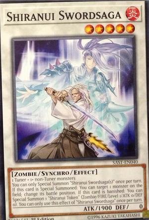 Shiranui Swordsaga - SAST-EN040 - Common - 1st Edition
