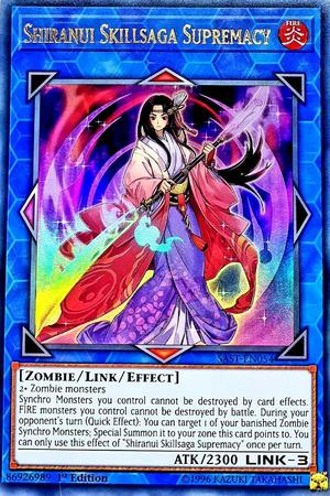 KAINA Super Rare Link SAVAGE STRIKE Losse kaarten 2 X YuGiOh SAST-EN055 SKY STRIKER ACE