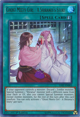 Ghost Meets Girl - A Shiranui's Story - SAST-EN063 - Ultra Rare - 1st Edition