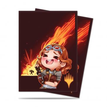 Ultra PRO - MTG Chibi Collection - Chandra LOL! Sleeves