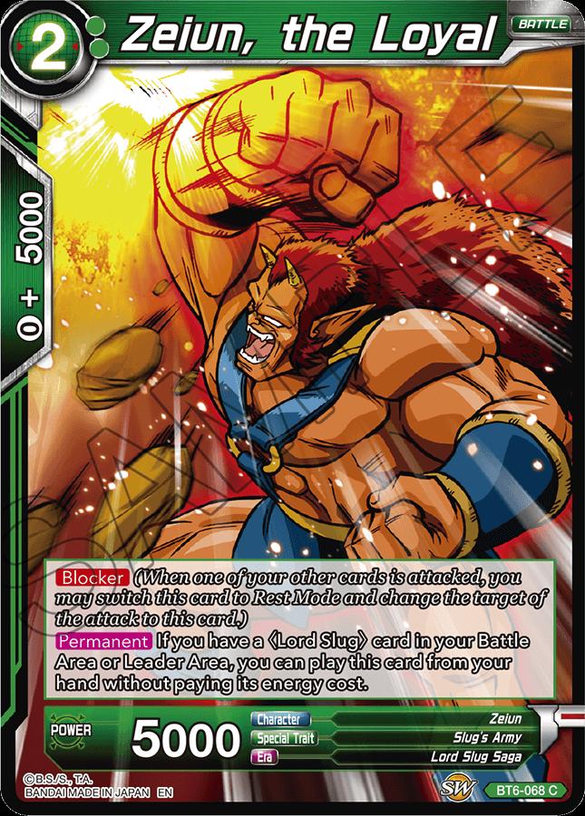 Zeiun, the Loyal - BT6-068 - C