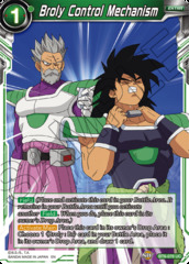 Broly Control Mechanism - BT6-076 - UC