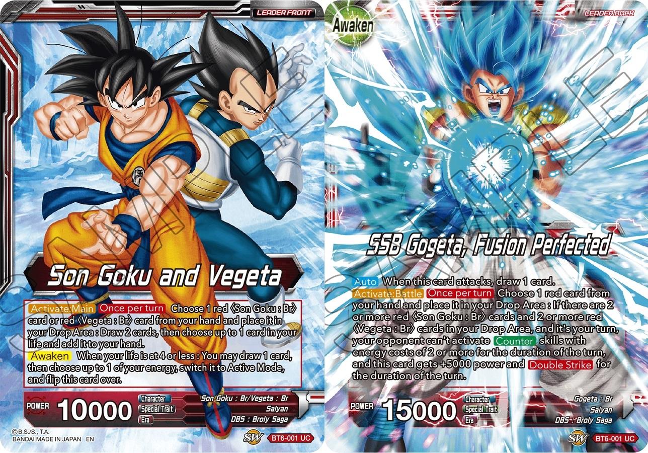 Mint Promo Card Dragonball Super Miracle Strike Gogeta//Son Goku /& Vegeta
