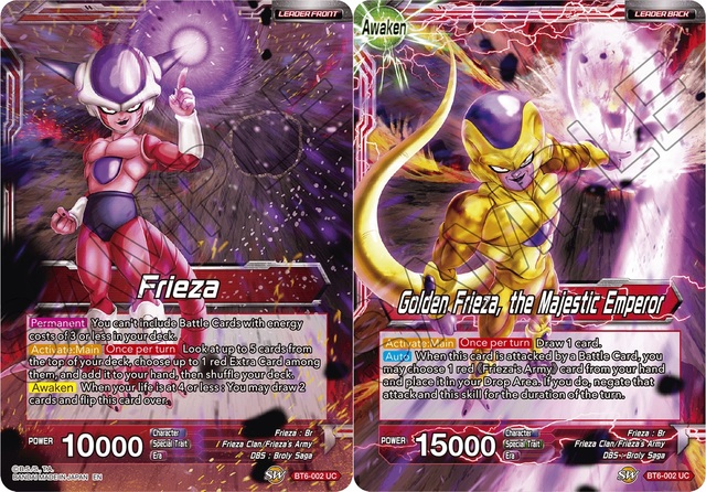 Frieza Golden Frieza The Majestic Emperor Bt6 002 Uc