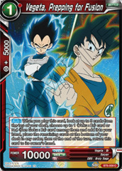 Vegeta, Prepping for Fusion - BT6-009 - C