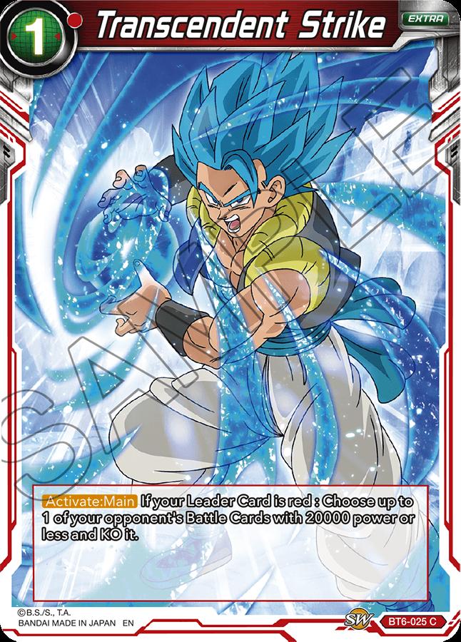 Transcendent Strike - BT6-025 - C - Foil