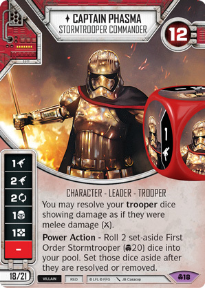 Captain Phasma- Stormtrooper Commander