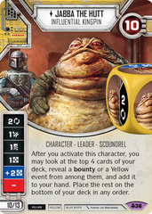 Jabba The Hutt- Influential Kingpin