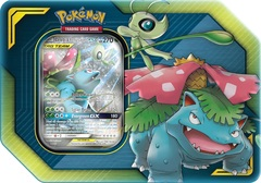 TAG TEAM Tin - Celebi & Venusaur GX