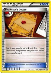 Professor's Letter - 146a/162 - (Non-Holo) Alternate Art Non-Holo Promo