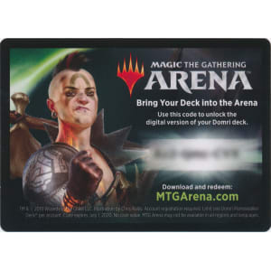 MTG Arena Code Card - Domri Planeswalker Deck - Magic