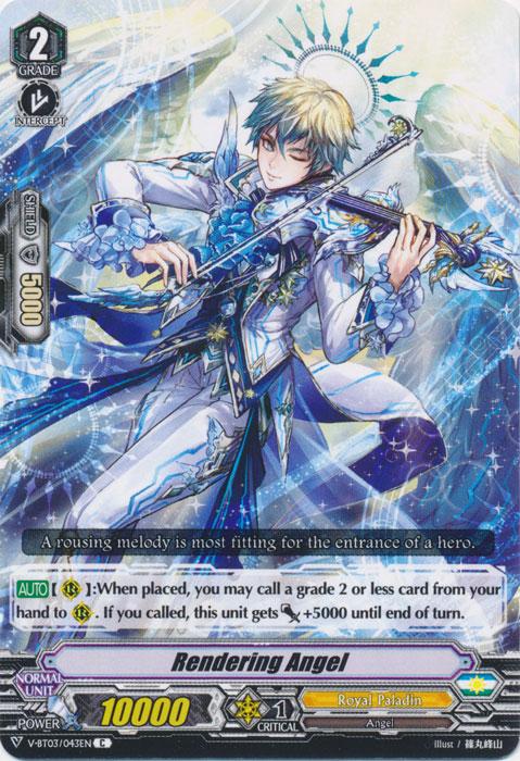 Rendering Angel - V-BT03/043EN - C
