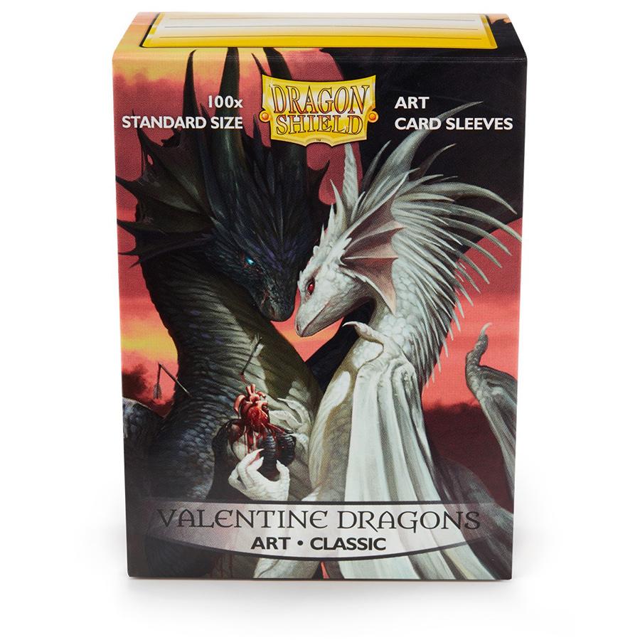 Dragon Shield Sleeves: Classic - Valentine Dragon (100)