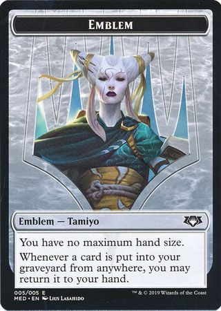Emblem (005/005) - Tamiyo, the Moon Sage Mythic Edition