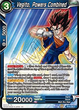 Vegito, Powers Combined - BT6-036 - C