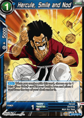 Hercule, Smile and Nod - BT6-040 - C - Foil