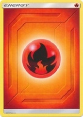Fire Energy - 2019 Unnumbered - Common - Reverse Holo