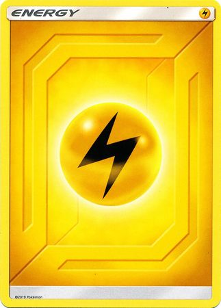 Lightning Energy - 2019 Unnumbered - Common - Reverse Holo