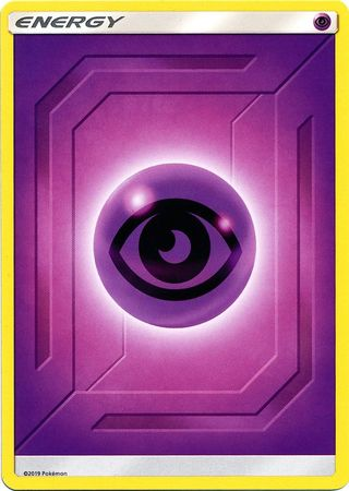 Psychic Energy - 2019 Unnumbered - Common - Reverse Holo