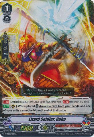 Lizard Soldier, Ouhou - V-TD06/009 - RRR