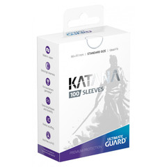 Ultimate Guard Standard Katana Sleeves White 100ct