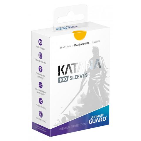 Ultimate Guard - Katana Sleeves - Standard Size - Yellow