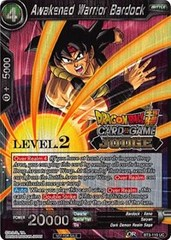 Awakened Warrior Bardock (Level 2 Judge Promo) - BT3-110 - PR on Channel Fireball
