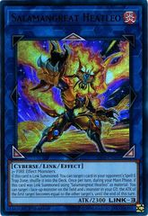 Salamangreat Heatleo - SDSB-EN040 - Ultra Rare - 1st Edition
