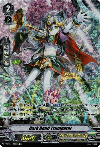 Dark Bond Trumpeter - V-BT04/OR01EN - OR