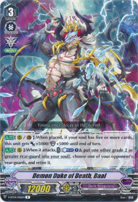 Death Demonic Duke, Baal - V-BT04/036EN - R